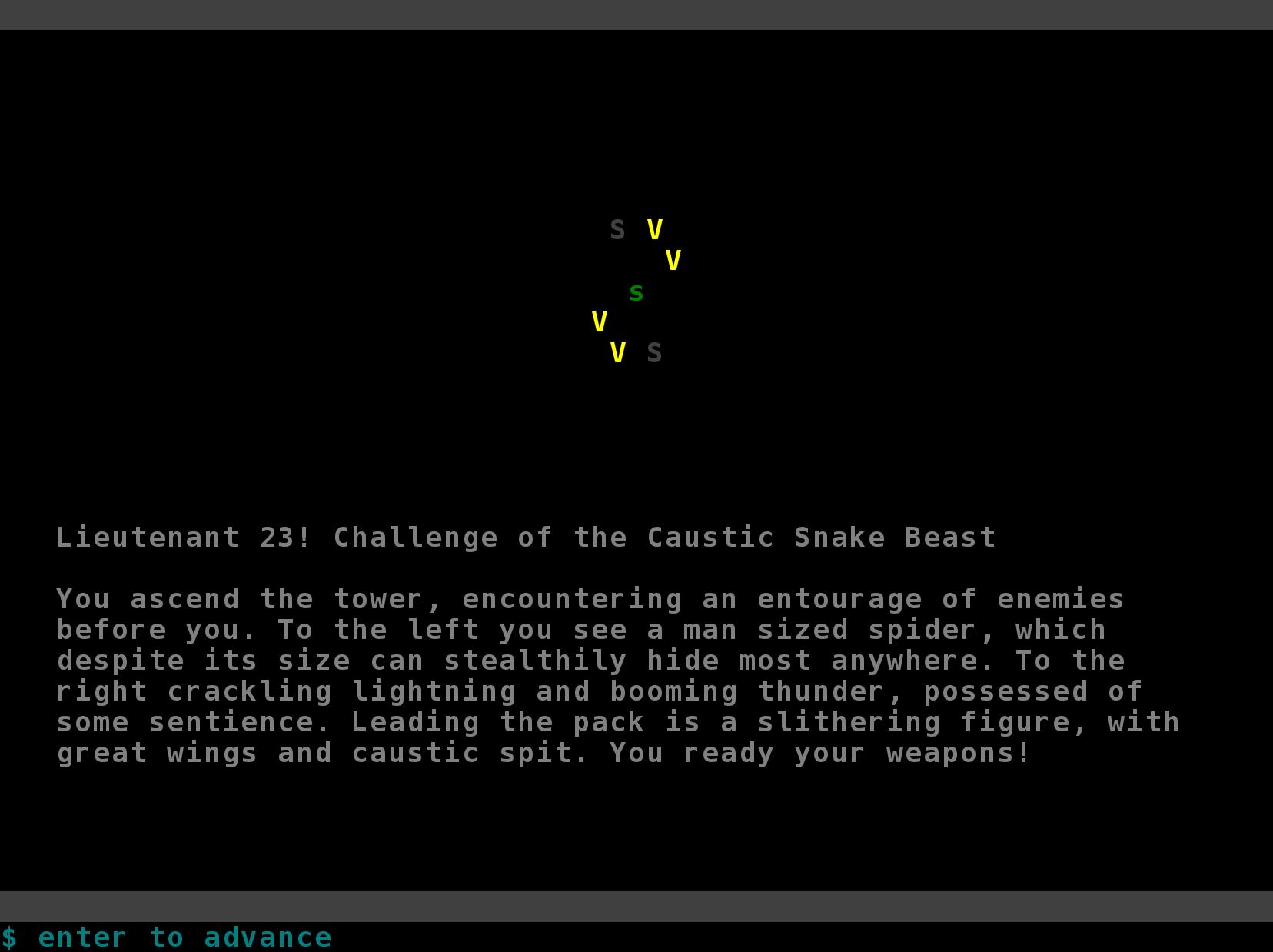Challenge Screen
